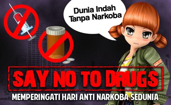 Memperingati Hari Anti Narkoba 2015