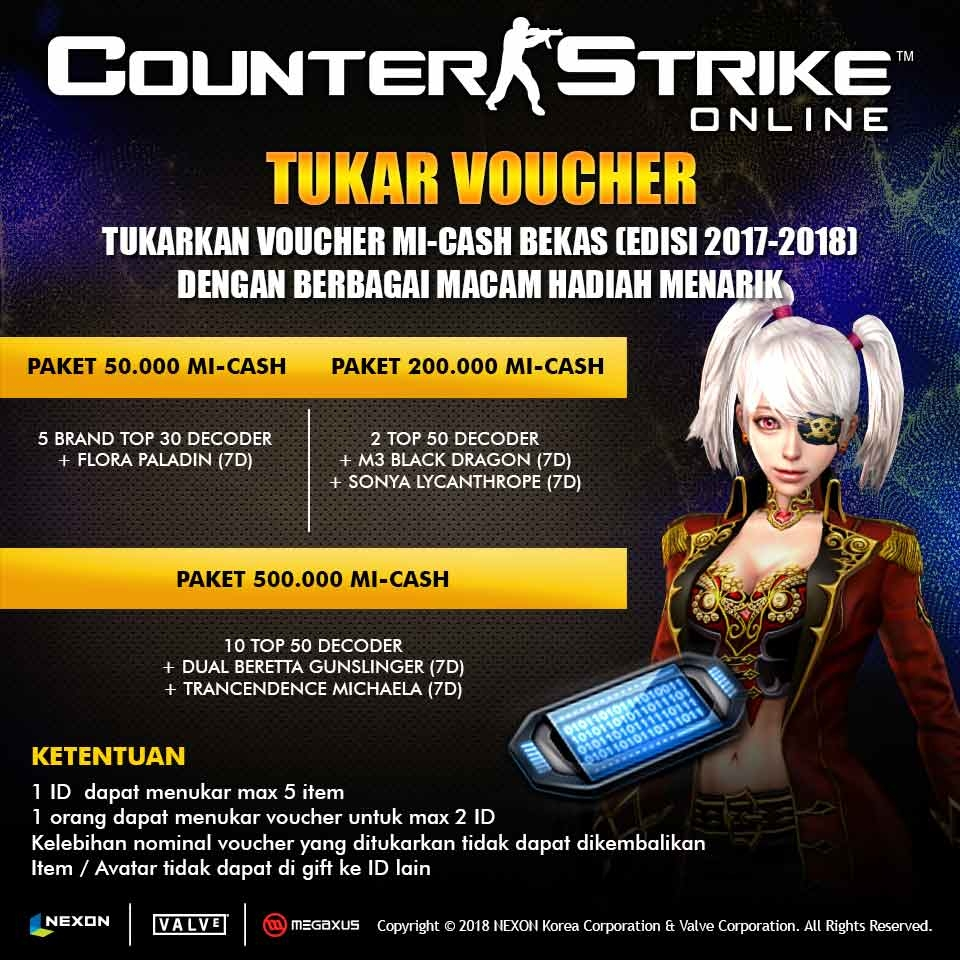 Ketentuan Baru Penukaran Voucher Portal Game Online 1 Indonesia Indomog Mogplay 200000 Digital Code Closers