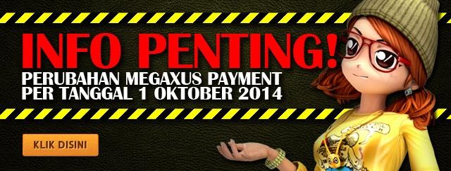 Perubahan Megaxus Payment
