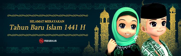 Selamat Tahun Baru Islam 1441h Portal Game Online 1 Indonesia Megaxus Infotech Megaxus Com Online Games Portal