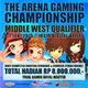 The Arena Gaming Championship Middle West Qualifier @ Jogja Digital Valley 6-7 Juni 2015