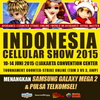 Indonesia Cellular Show (ICS) 2015 di JCC (Jakarta Convention Center) 10-14 Juni 2015