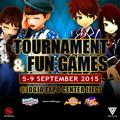 Megaxus Tournament dan Fun Games 5-9 September 2015 @ Jogja Expo Center