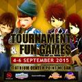 Megaxus Tournament dan Fun Games 4-6 September 2015 @ Atrium Center Point