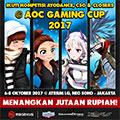 Megaxus Tournament @ AOC Gaming Cup 2017 @ Neo Soho, Jakarta