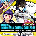 Megaxus @ Indonesia Comic Con 2017, 28-29 Oktober 2017