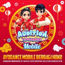 AyoDance Mobile - Paket Spesial Imlek 2018, hanya di Google Play!