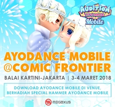 AyoDance Mobile @Comic Frontier 2018