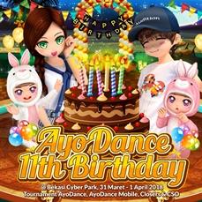 Single Tournament AyoDance Mobile @AyoDance 11th Birthday Celebration