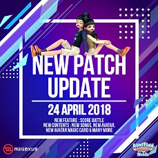 New Patch Update AyoDance Mobile 24 April 2018