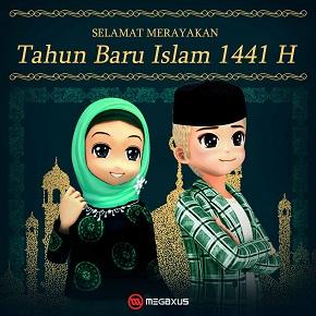 Selamat Tahun Baru Islam 1441H  Portal Game Online #1 Indonesia
