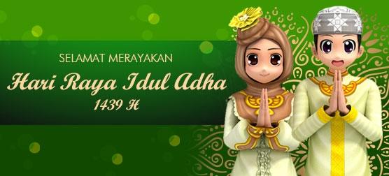 Selamat Hari Raya Idul Adha 1439 H Portal Game Online 1 Indonesia Megaxus Infotech Megaxus Com Online Games Portal